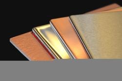 Декоративная металлическая плитка 3