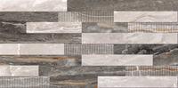 3D микс декор Bergamo коричневый,30x60, теплая гамма