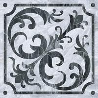 Классический микс декор Bergamo 60x60 холодная  гамма