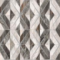 Геометрический микс декор Bergamo 60x60 теплая гамма