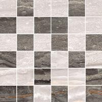 Мозаика Bergamo бежево-коричнеый микс 5х5 см, сетка 30х30 см