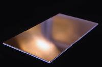 Плитка из алюминия с медным напылением 138x250x3 мм