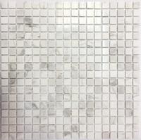 KP-735, 15х15х4 мм мозаика из мрамора