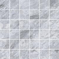 Мармори мозаика дымчато-серый 5x5 см, сетка 30х30 см
