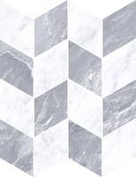 Мармори декор Шеврон холодный микс 24x31,1 см