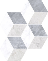 Мармори декор Hexagon grey