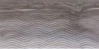 Blast рельефный декор серый 30х60