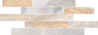 Vulcano бордюр 78,5х28 см натуральный серый
